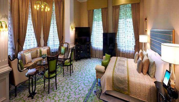 The raviz resort room