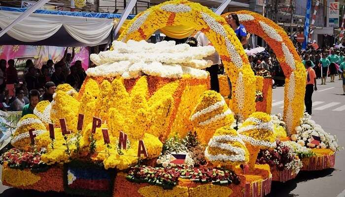 Tomohon International Flower Festival indonesia