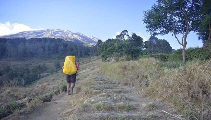 Trek Details of skandagiri trek