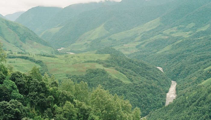 Beautiful Vaalley in Arunachal Pradesh