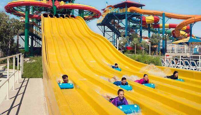 WATER PARK COUPLES ITINERARY