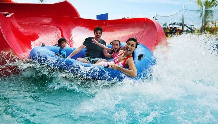 WATER PARK FAMILY ITINERARY