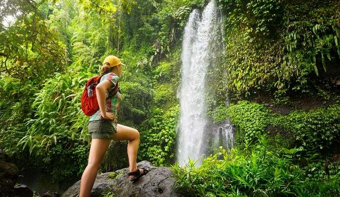 Waterfall trekking is an offbeat adventure