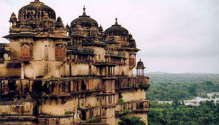 Beautiful fort of Tikamgarh