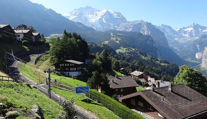 Scenic Beauty of Interlaken