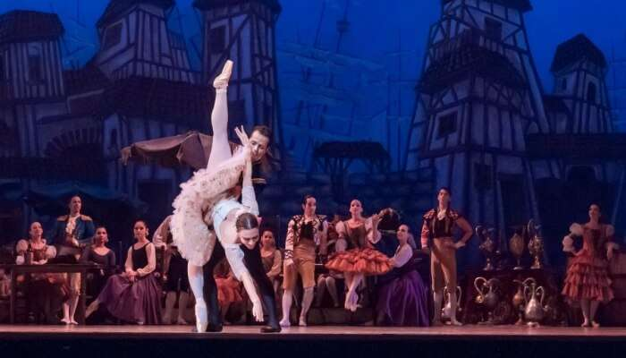 ballet dance on stage