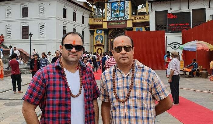 visited to Pashupatinath Temple