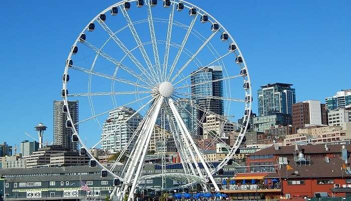 Adventure Ride At The Seattle Great Wheel