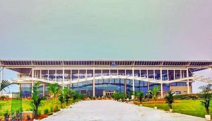 Allahabad Airport View