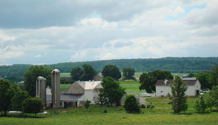 Amish Farms in USA
