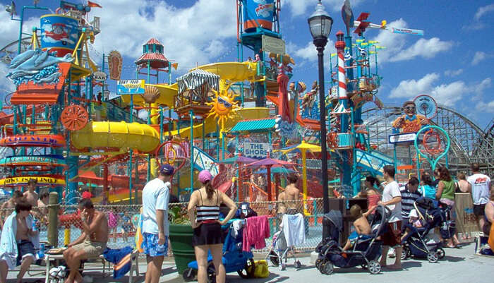 Amusement Park in USA