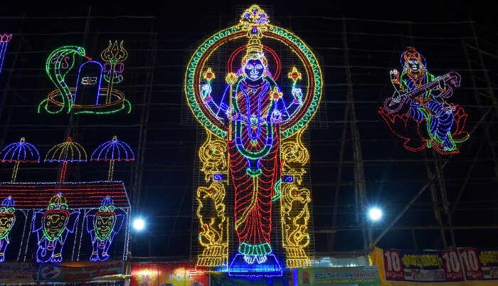 Attukal Bhagavathy Temple in Munnar