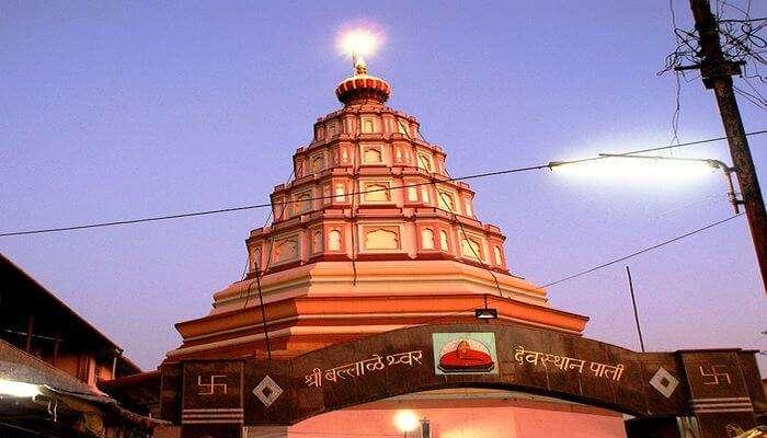 Ballaleshwar Pali Temple View