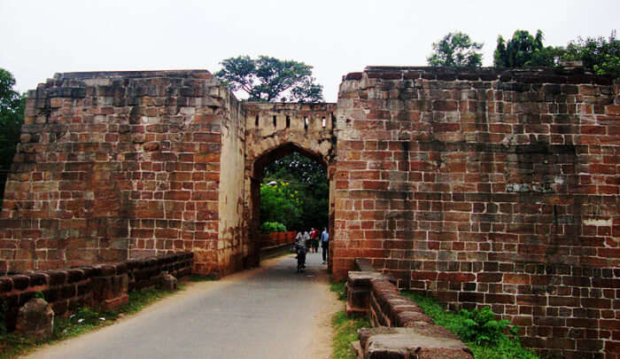 Old Barabati Fort in Odisha