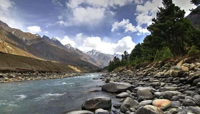 Baspa River View