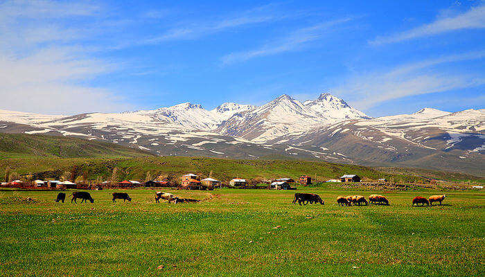 Behold an Incredible Beauty of Mount Aragats