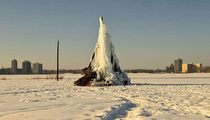 Belle Isle Near Detroit