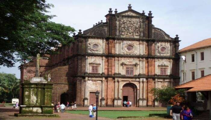 Beautiful Bom Jesus Church