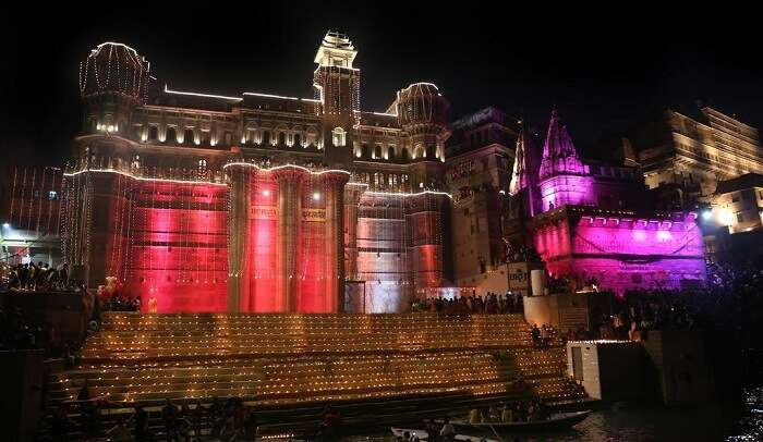 Venue at Dashashwamedha Ghat