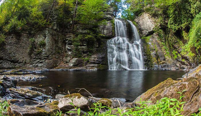 Bushkill Waterfall in Pennyslavia