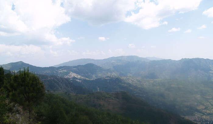Chamba Valley in Kanatal