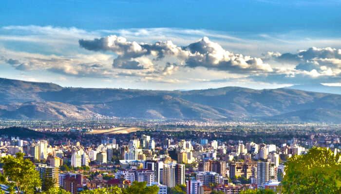 Scenic View of Cochabamba