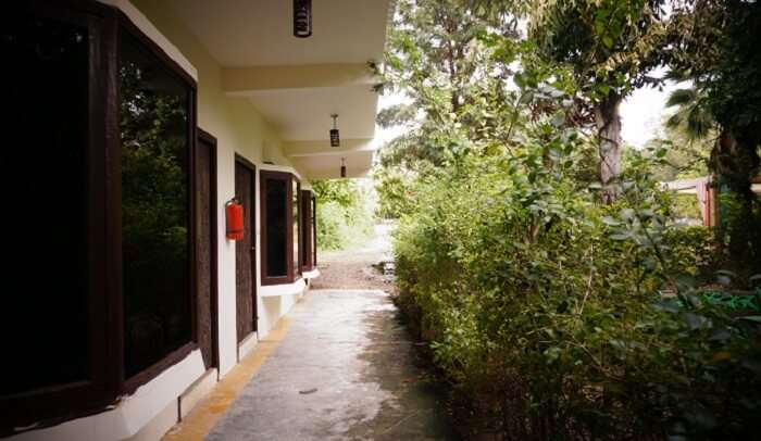 gallery of the resort