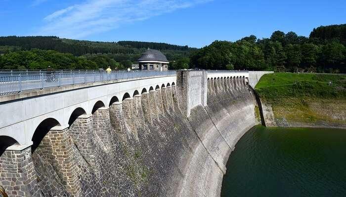 Depchari Dam's View