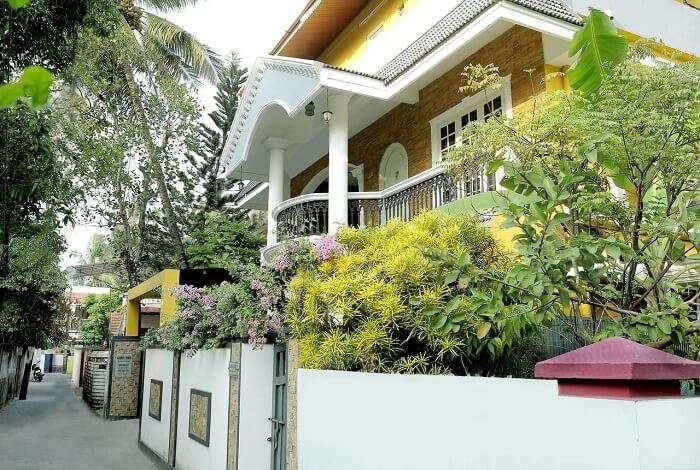 Heritage homes in Kochi