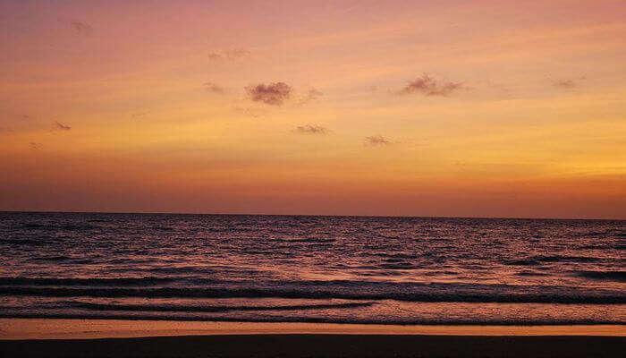 Sunset at Devka Beach