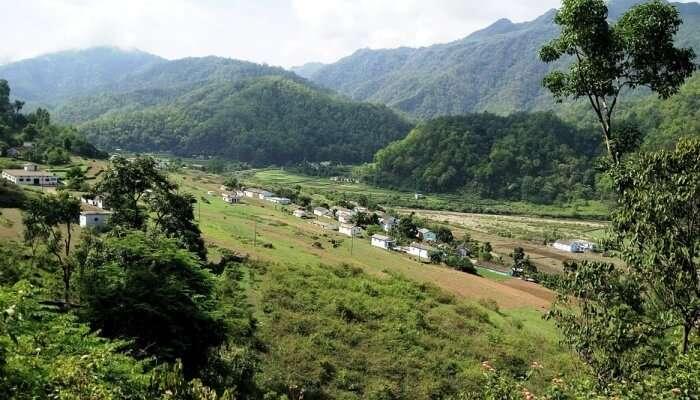 Dharali In Gangotri