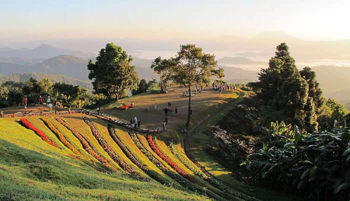 Spectacular View of Doi Kiew Lom