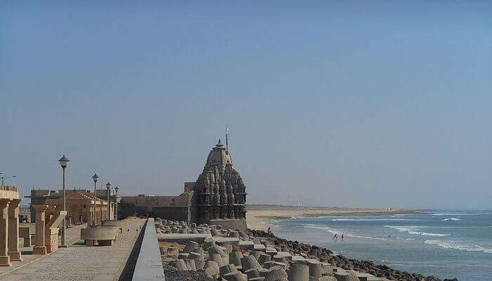 Dwarka Beach in Gujarat