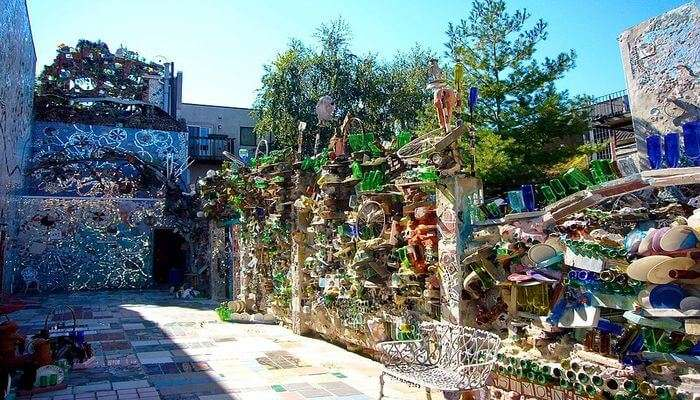 Enjoy Folkart At The Magic Gardens