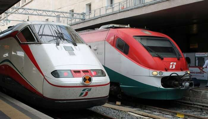 Enjoy High-Speed Train Ride