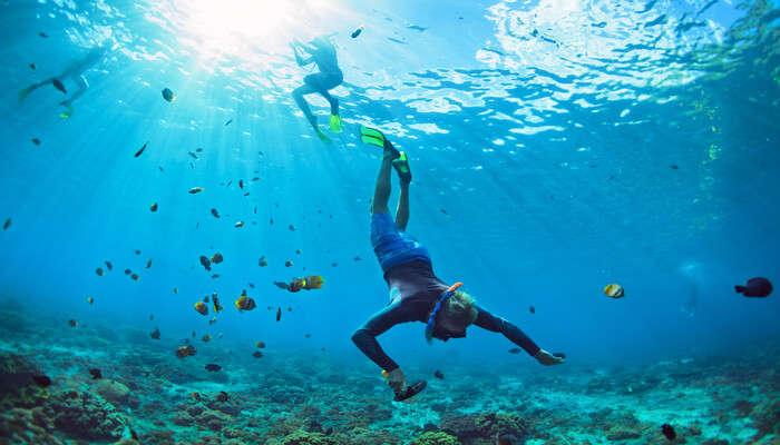Enjoy Snorkelling At Kalapathar Beach