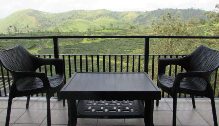 Falcon Crest Hotel in Vagamon