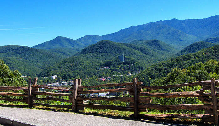 Gatlinburg Mountains In Tennessee