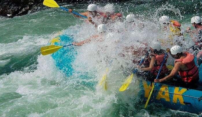 River Rafting brings adventurous