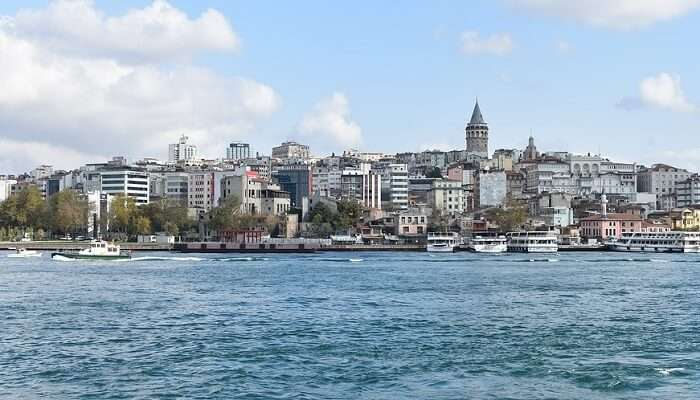 Beautiful Golden Horn