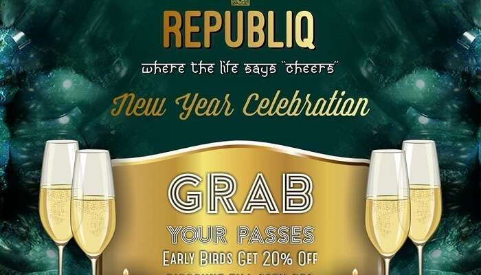 Grand New Year Celebration At Republiq