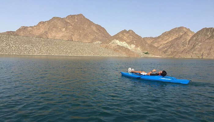 Hatta Kayak at Hatta Dam