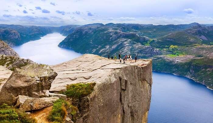 an incredible hiking trail