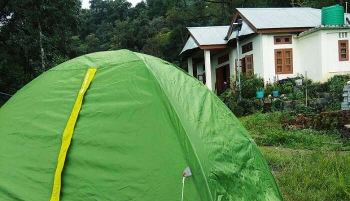 Hillfoot Camp in Kohima