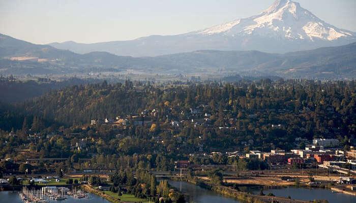 Hood River in Oregon