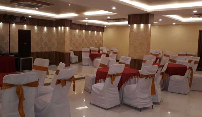 comfortable venue