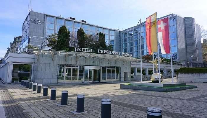 Hotel President Wilson in Geneva