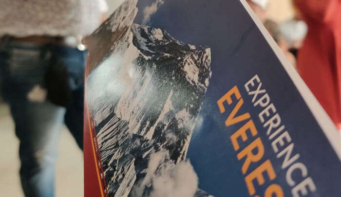 an amazing experience of Mount Everest