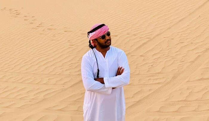 went for desert safari