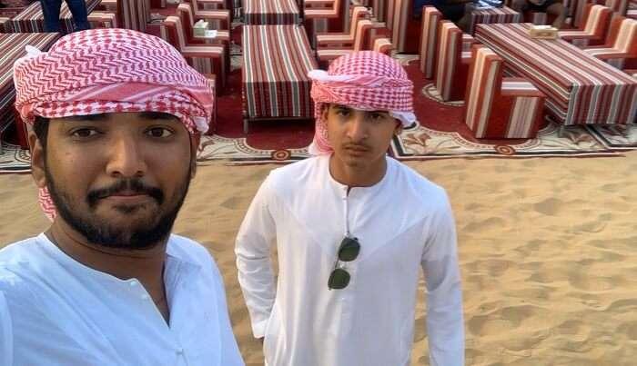 an amazing experience in desert safari